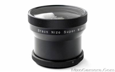 Nizo Super Wide 0.38 Fish Eye lens
